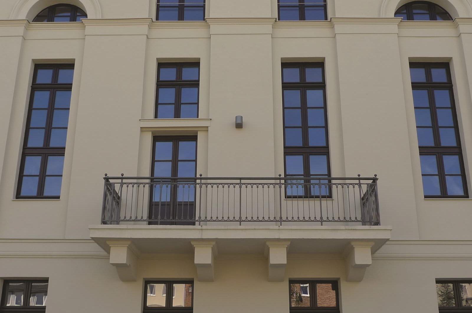 Europäische Bibliothek für Homöopathie Balkon